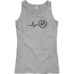 Heart beat biking shirt