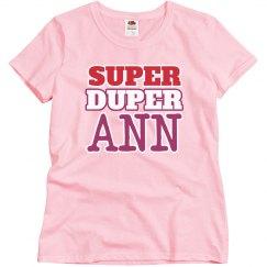 Super Duper Ann