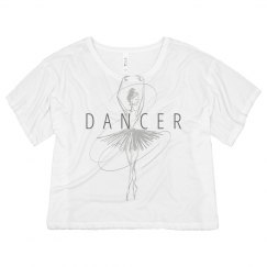 Dancer Ballerina Sketch Shirt