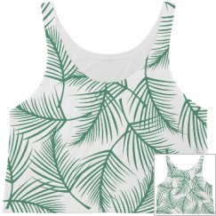 Nature leafs tank top.