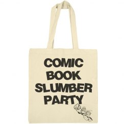 Comic book slumber party bag