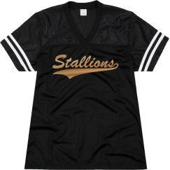 Central Lee stallions shirt.