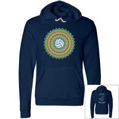 Mandala Volleyball Sweatshirt