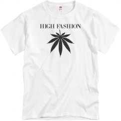 High fashion (blk logo) multiple logo color options