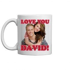 Love You Upload Mug