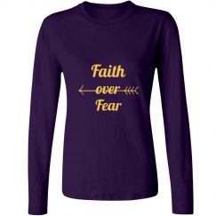 Faith Over Fear Long Sleeve Tee