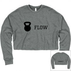 KB Flow Crop Sweatshirt