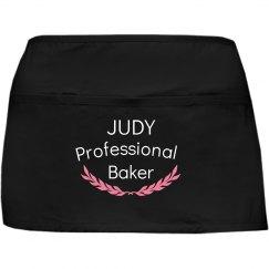 Judy professional baker