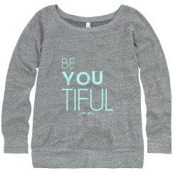 beYOUtiful Blu sweatshirt