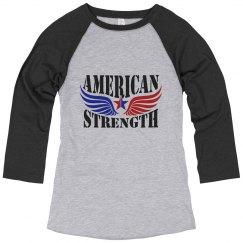 American Strength Baseball T