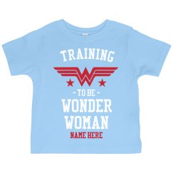 Custom Training to be Wonder Woman