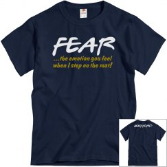 Fear...when I step mat