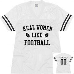 Custom Real Women Like Football
