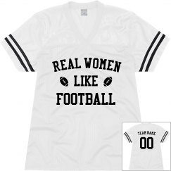 Custom Real Women Like Football