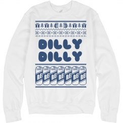 Dilly Dilly Christmas Drunk Sweater