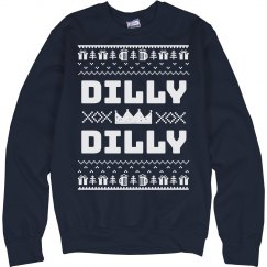 Dilly Dilly Crowned Drinking Sweater