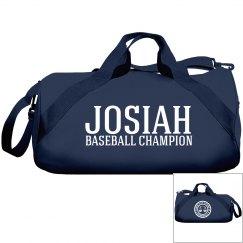 Josiah, Baseball Champ