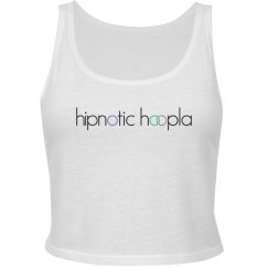 Hipnotic Hoopla Logo Crop Top