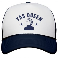Yas Queen Hillary Trucker Hat