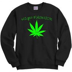 High fashion (neon green logo) multiple logo options