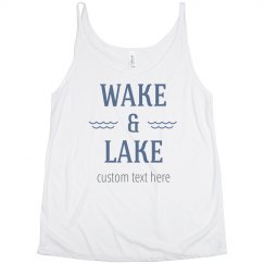 Customize Your Lake Tank