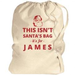 Jame's Big Present Bag