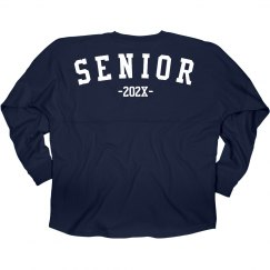 Senior Jersey Long-Sleeve Slub