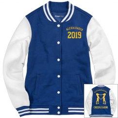 Salem Christian School Cheer varsity jacket