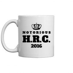 Hillary Clinton Notorious Mug
