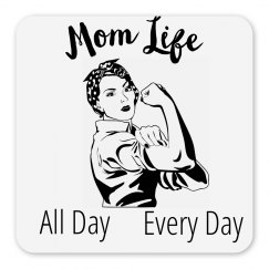 Mom Life All Day Every Day Magnet