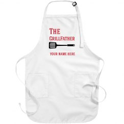 Personalized GrillFather apron