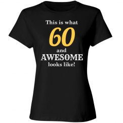 One awesome 60 year old
