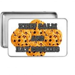 eat cookies