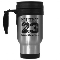 Football Mom Mug Number
