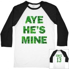 Aye Mine Irish Couple Gal