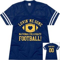 Mom Football Jersey