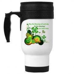 Irish Blessing, Throw Pillow
