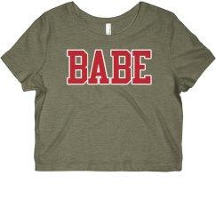 Babe crop T