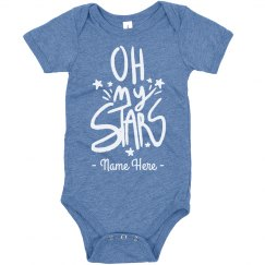 Oh My Stars 4th of July Custom Bodysuit