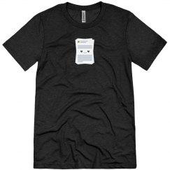 Microsoft Docs Logo Tee Vintage Black