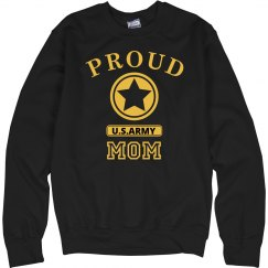 Proud U.S. Army Mom sweatshirt