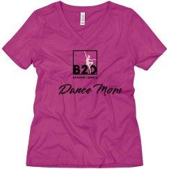 Dance Mom V Neck Tee