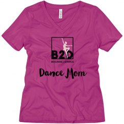 Dance Mom V Neck Tee