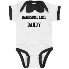 Handsome like daddy