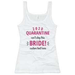 Custom 2020 Quarantine Bride Bach Tank