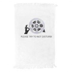 Movie Notification Towel