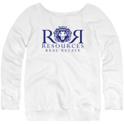 Ladies Relaxed Fit Fleece Sweatshirt