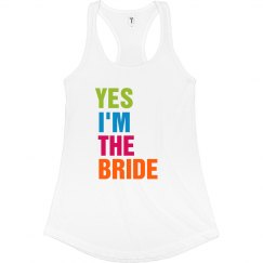Yes I'm The Bride Tank
