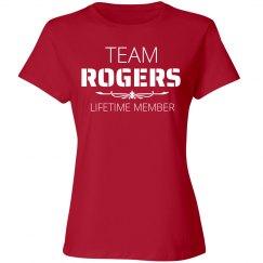 Team Rogers lifetime member