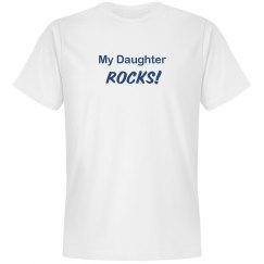 My Daughter Rocks Tee
